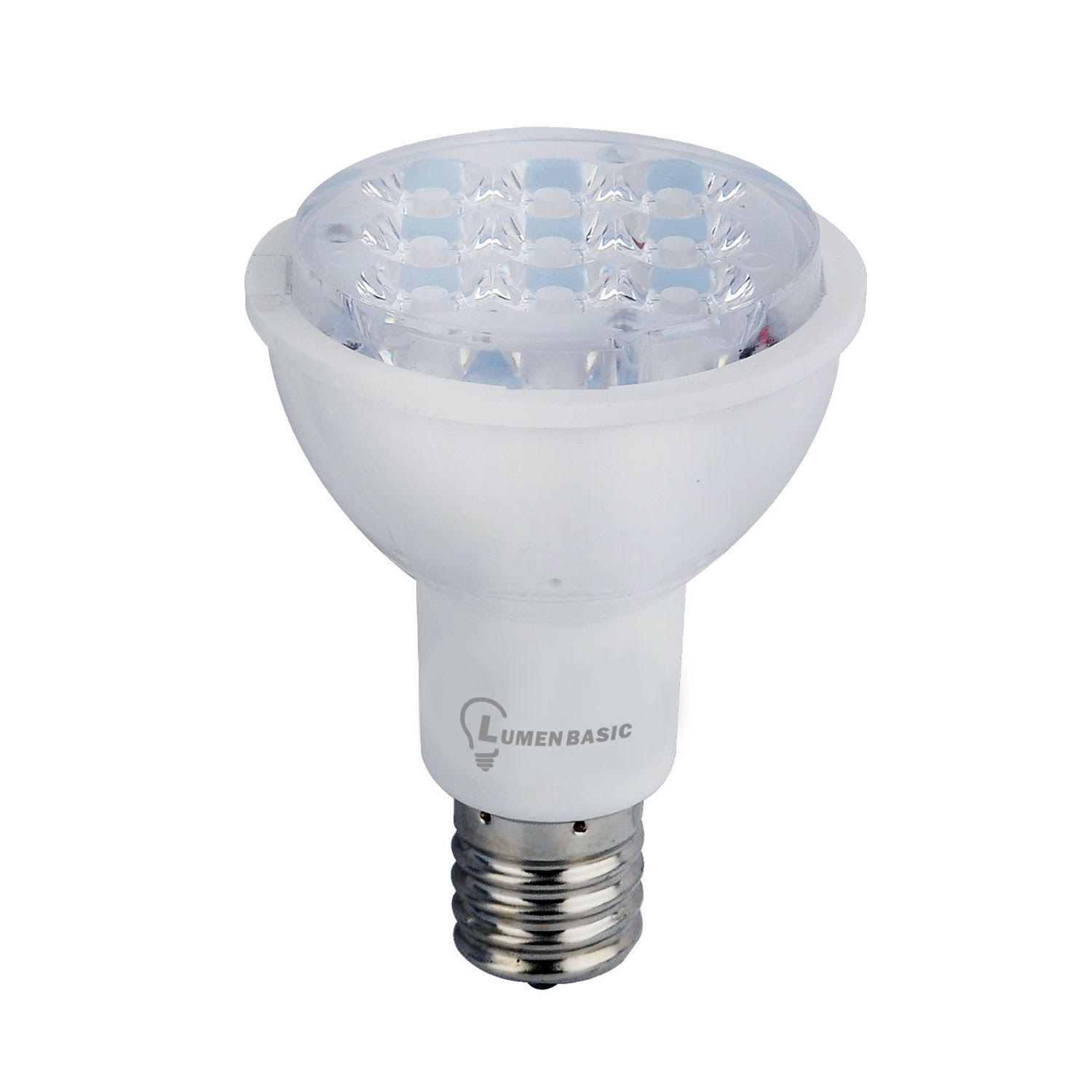 Lumenbasic 4w Daylight White Led Light Dimmable E17 Bulb R14
