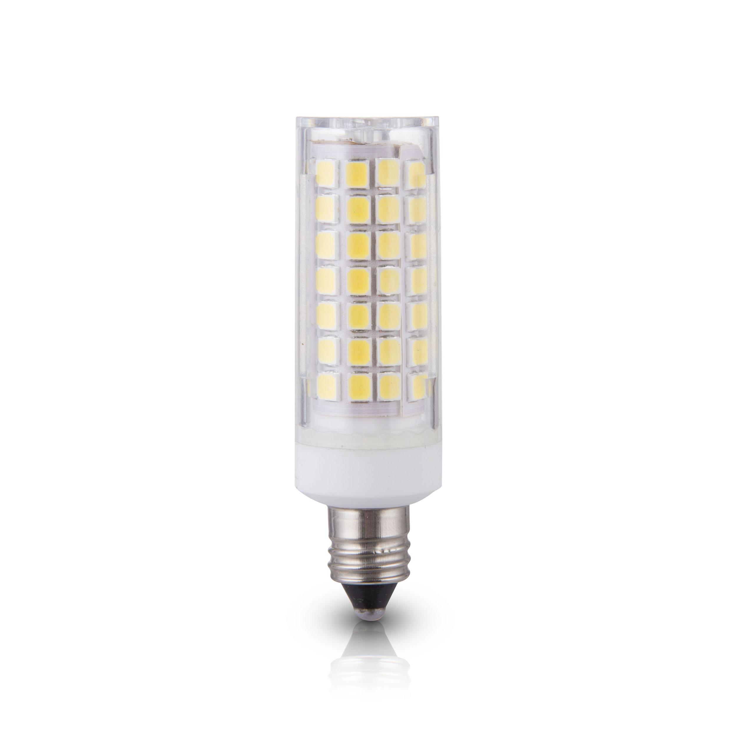 lumenbasic e11 led bulb mini candelabra base 50 watt to 60 watt incadescent bulb replacement. Black Bedroom Furniture Sets. Home Design Ideas