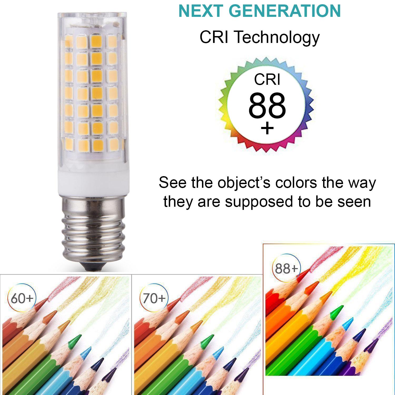Jd E12 Led: LumenBasic E17 LED Bulb 7W E17 Intermediate Base 45W