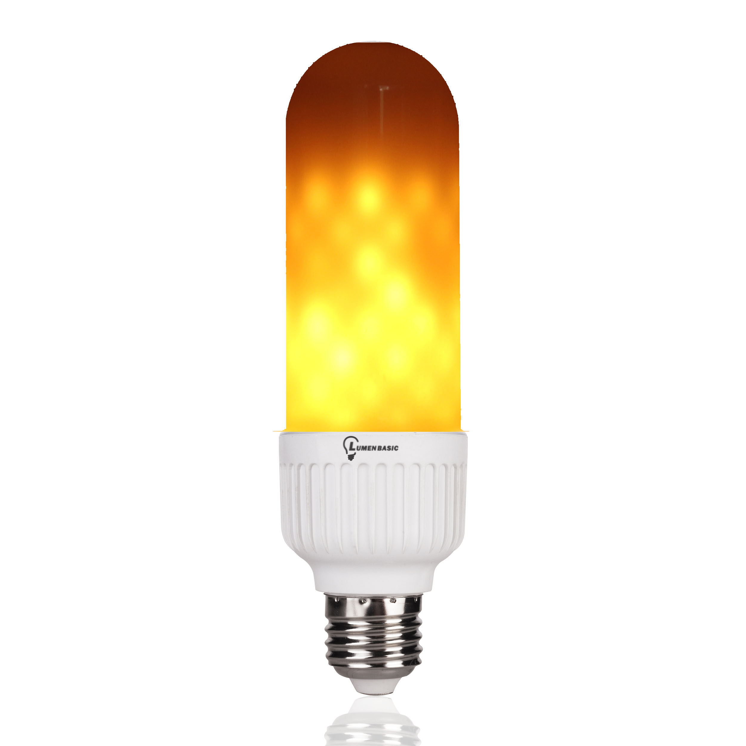 Outdoor Led Light Is Flickering: LumenBasic Flickering Flame Light Bulb E26 LED Flame