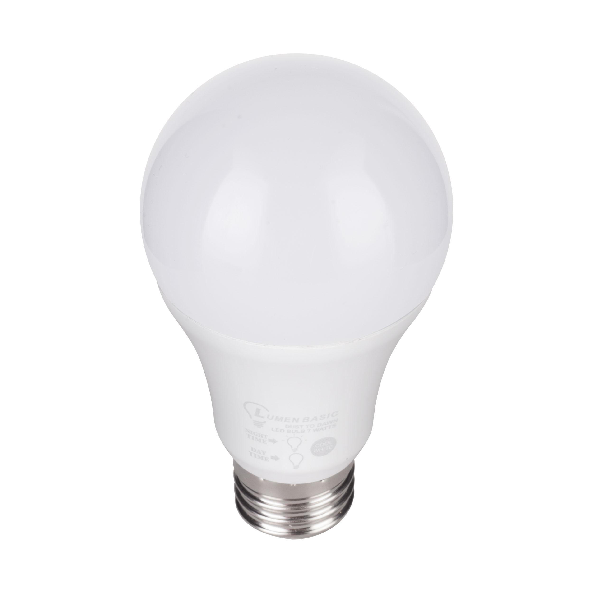 Lumenbasic Led Dusk To Dawn Bulb 60 Watt Incandescent